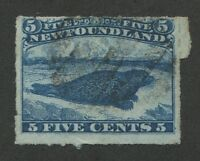 NEWFOUNDLAND #40i USED MAJOR RE-ENTRY