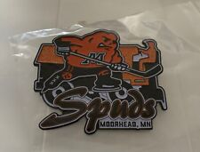 """FARGO SQUIRT 2020 HUGE 3.5"""" MOORHEAD SPUDS HOCKEY PIN (ONLY AVAILABLE)"""