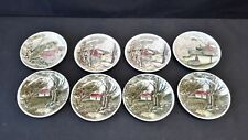 Johnson Brothers Friendly Village Set of 8 Coasters