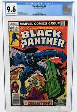 Black Panther #4 (1977) CGC Graded 9.6 Jack Kirby Story Art & Cover Marvel