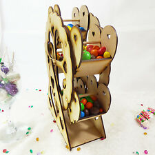 Self-Assembly Rotating Mini Ferris Wheel Sweet Treat Table Display Decoration