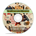 The History of American Fashion, Vintage Clothing Catalogs, 105 Books DVD E44