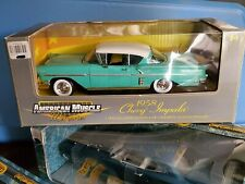Ertl 1958 Chevy Impala Coupe 1:18 Scale Diecast '58 Model Car Memories 32287