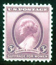 US Stamp #784 Susan B Anthony 3c, PSE Cert - XF 90 - MOGNH- SMQ $18.00