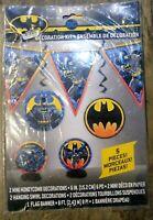 New Batman 5ct Party Decoration kit - Unique Industries