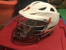 NWT Cascade R Goalie White Virginia Cavaliers Team Issued Lacrosse Helmet