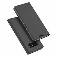 For Samsung Note 8/S9/S8/Plus/A8 2018 Leather Flip Wallet Magnetic Case Cover