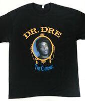 Dr Dre The Chronic Black  T-SHIRT TEE Nwa WEST COAST 2PAC  HIP HOP  LA death row