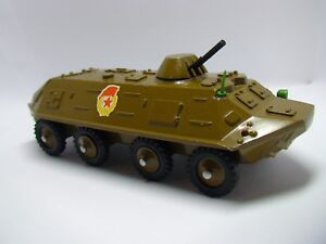 BTR 344 METAL USSR SOVIET SCALE MODEL 1:43 MILITARY ARMY ARMOR TIN TOY VEHICLE