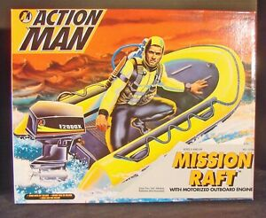 Hasbro Action Man Mission Raft from 1995