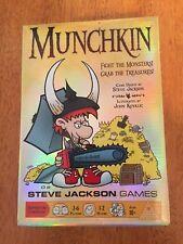Munchkin Steve Jackson Games Fight The Monsters Grab The Treasures