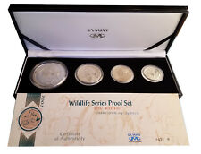 South Africa Wildlife Silver Proof Set. The Rhino 2003