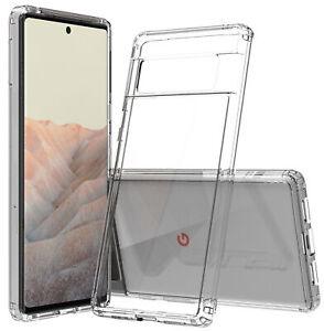 AquaFlex Transparent Anti-Shock Clear Phone Case Cover for Google Pixel 6 Pro
