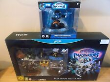 Skylanders Imaginators dark edition Wii u & Tidepool - Brand New