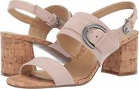 Naturalizer Womens Kaylee Suede Peep Toe Casual Slingback, Soft Marble, Size 6.5