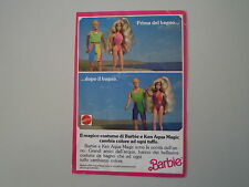 advertising Pubblicità 1990 BARBIE MATTEL