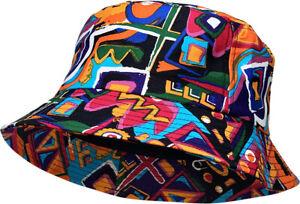 Aztec Navajo Bucket Hat Fashion Print Cap Unisex