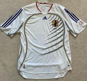 ADIDAS Japan Men's National Team 2006 Away Futbol/Soccer Jersey (WHITE)- Size XL