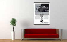 "1963 ISUZU ELF DIESEL TRUCK AD PRINT WALL POSTER PICTURE 33.1""x23.4"""