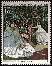 FRANCE - Yvert 1703 - TABLEAU PEINTURE MONET -Timbre  neuf**