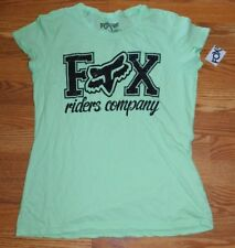 Fox Riding Company Green Tee T-Shirt Size Large BNWT