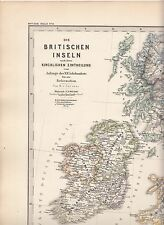 Ecclesiastical divisions of the British Isles in Anglo-Saxon times early map