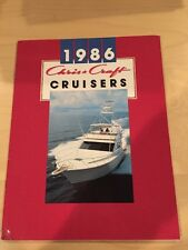 Chris Craft 1986 Cruisers Boat Brochure / Catalog