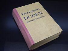 Der Große DUDEN Rechtschreibung