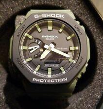 Casio G-Shock GA2110SU-3AER Casioak Green Mens Watch