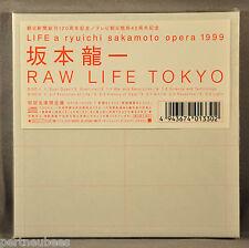 RYUICHI SAKAMOTO Opera Raw Life Tokyo JAPAN '99 Mini LP CD Ltd. OBI WPC6-10056/7