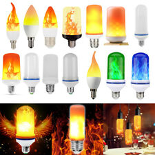 LED Flame Effect Light Bulb Emulation Fire Flickering Fire Decorative Bulbs Lamp
