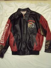 Tampa Bay Bucs Leather Jacket G-III Adult Size Large New Without Tags!