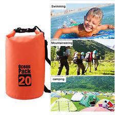 high quality 20L Waterproof Dry Bag Swimming Rafting Kayaking Camping Canoe