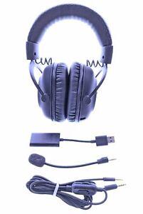 Logitech - G PRO X Wired 7.1 Surround Sound Gaming Headset for Windows - Black