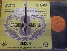 LXT 2978 rubbra/BERKELEY/Frederick grinke O/G