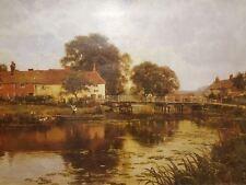 Woolhampton Bridge by Edward Wilkins Waite Artwork by Selby Prints