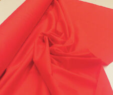 RED 100% COTTON POPLIN FABRIC  : SELLING BY 1/2 MTR  : #CPP0R