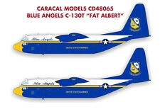 Caracal Models 1/48 decal Blue Angels C-130T Fat Albert - Italeri - CD48065