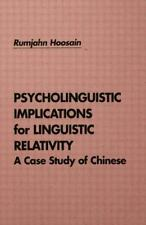 Psycholinguistic Implications for Linguistic Relativity: A Case Study-ExLibrary