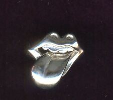 Vintage Sterling Silver Rolling Stones Ring ~ Size 8