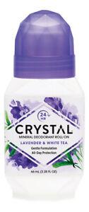 Crystal Mineral Deodorant Roll-On - Lavender 66ml