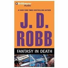 Fantasy in Death by J.D. Robb Compact Disc Book (English) NEW
