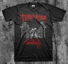 Terrorizer-Hordes Of Zombies' T Shirt (Napalm Carcass Grindcore)