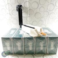 empty cigarette tube + filling machine tobacco tip ZICO VENTTI rolling G