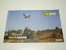 2013 NATE ADAMS Answer PRO TAPER FMX Motorcycle Racing Freestyle Poster NEW!