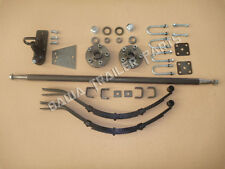 D.I.Y Single Axle Trailer Kit 750 kg rating!