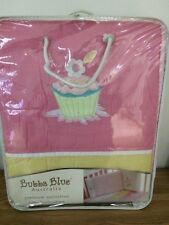 NEW Bubba Blue - Girl - Embroidered Premium Collection 6 Piece Nursery Gift Pack