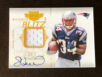2011 Panini Rookie Plates & Patches Shane Vereen Card #2 Mint AUTO PATCH 01/25