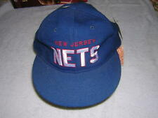 Vtg New Jersey Nets Starter The Natural SnapBack Hat Old Logo Nba New With Tags