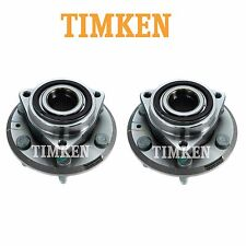 For Buick GMC Saturn pair Set of 2 Front Wheel Bearings & Hub Assemblies Timken